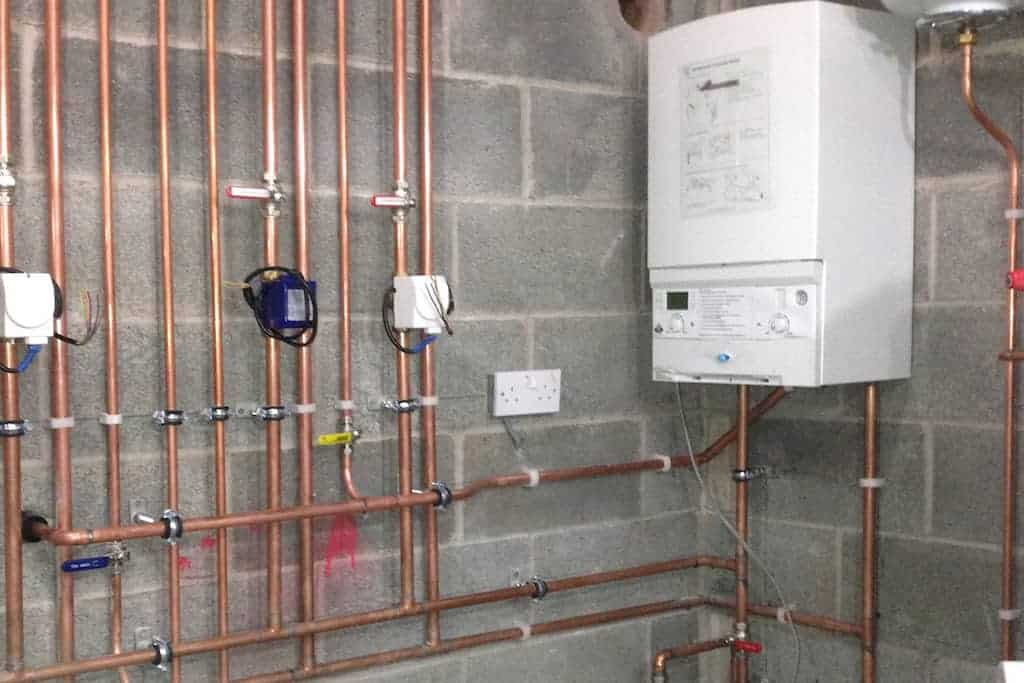 New boiler installation costs