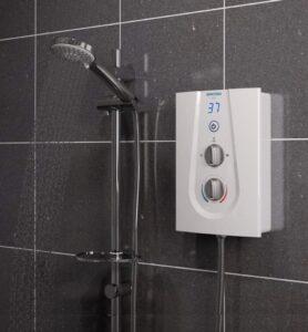 Bristan GLE3105 W 10.5 kW Glee 3 Electric Shower