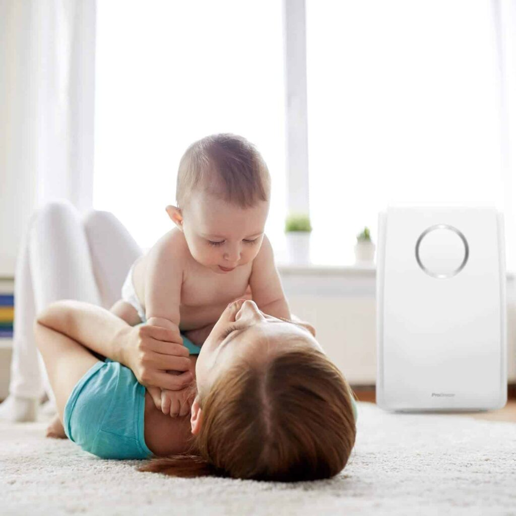 Pro Breeze 5-in-1 Air Purifier with True HEPA Filter