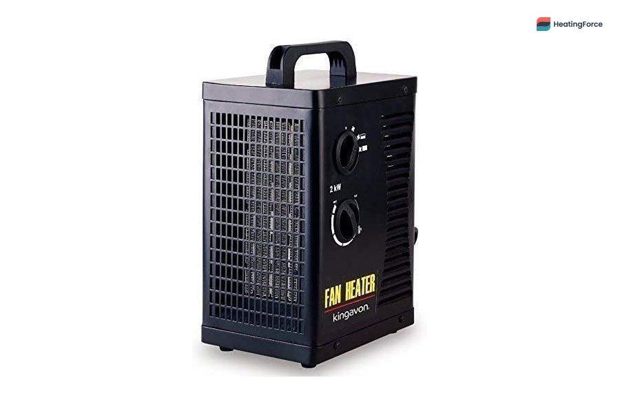 Calentador de ventilador industrial Garden Mile 2Kw PTC Turbo