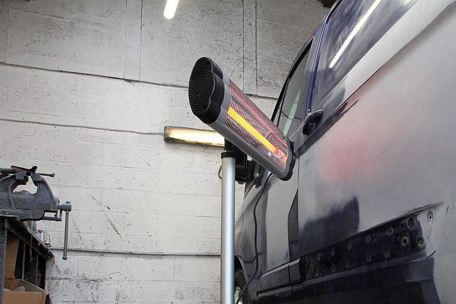 Calentador de garaje infrarrojo eléctrico Kiam 2.5KW