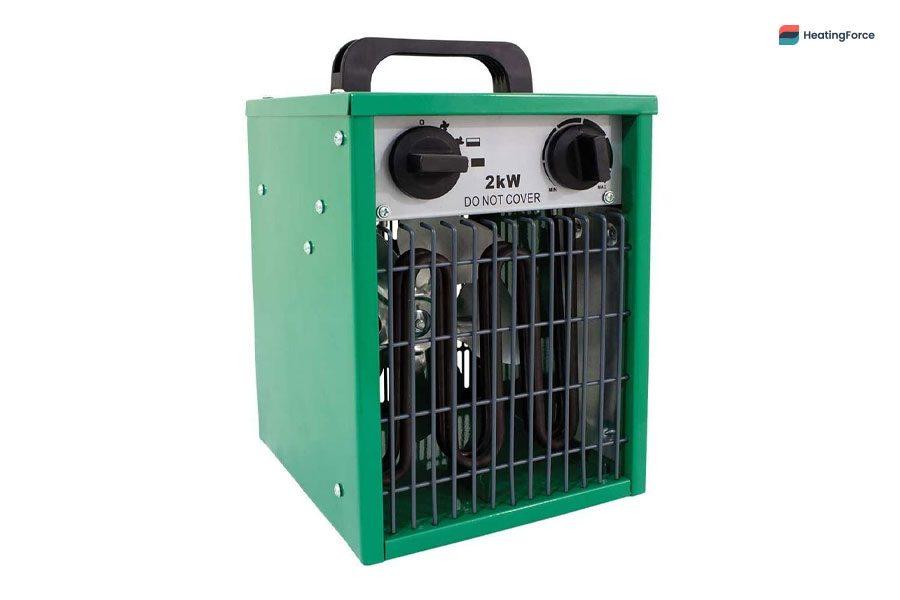 Calentador de garaje eléctrico grande Parasene