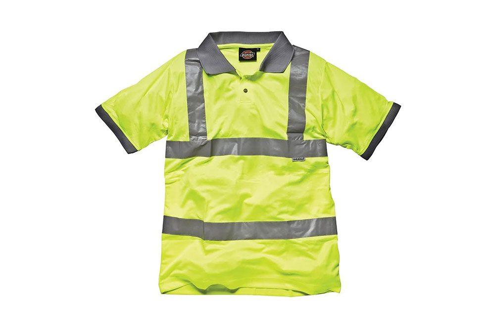 Polo de seguridad de alta visibilidad Dickies - Ropa de trabajo para hombre