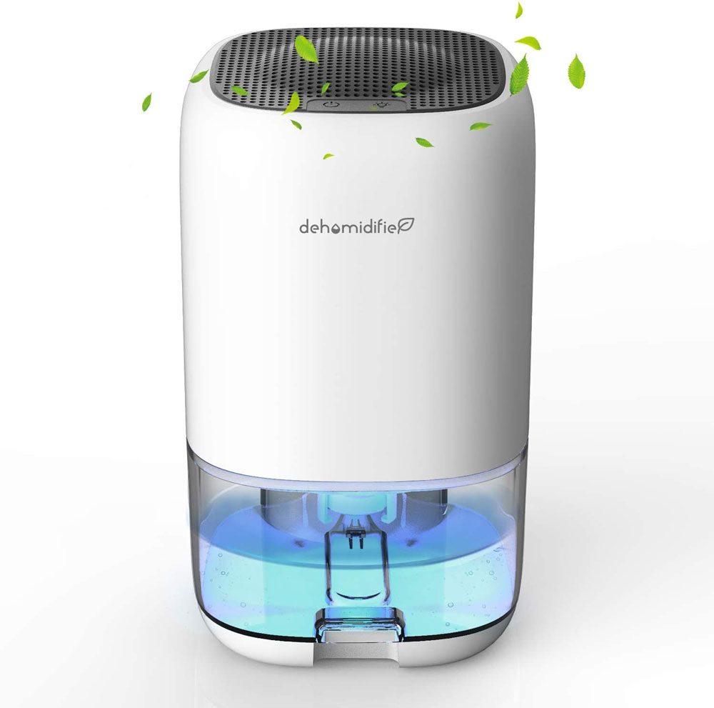 FLASHVIN Dehumidifier 1000ml Portable Mini Dehumidifier