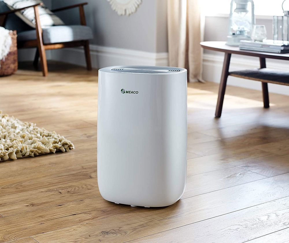 Meaco MeacoDry Dehumidifier ABC Range 10LS (Silver) Ultra-Quiet, Energy Efficient, Laundry Mode, Auto-off, Auto De-Frost - Ideal for Damp and Condensation