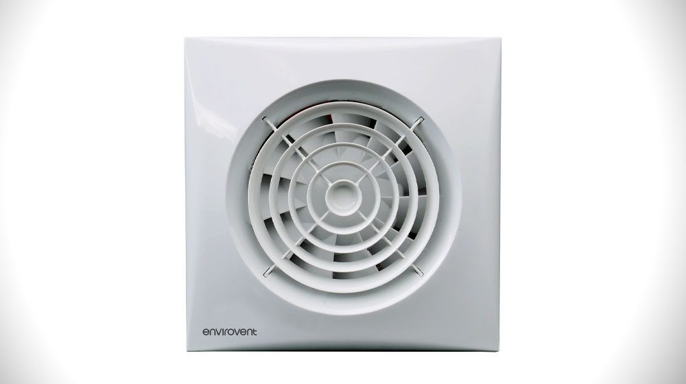 """Envirovent SIL100IT SILENT Extractor Fan 4"""" 100MM"""