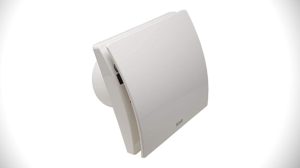 Kair Smart 100mm Intelligent Extractor Fan with Humidistat Timer and Data Logger (Smart Fan)