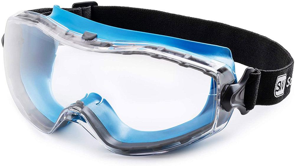 Gafas de seguridad SolidWork con ajuste universal, Gafas de seguridad con lentes recubiertos