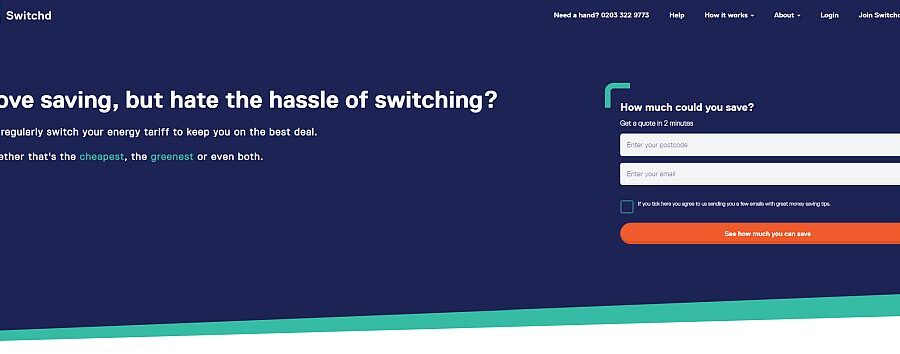 Switchd Review – Auto-Switching Service For Gas and Electricity Suppliers