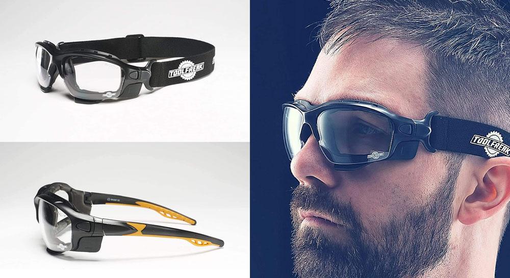 ToolFreak Spoggles Gafas de seguridad y gafas protectoras