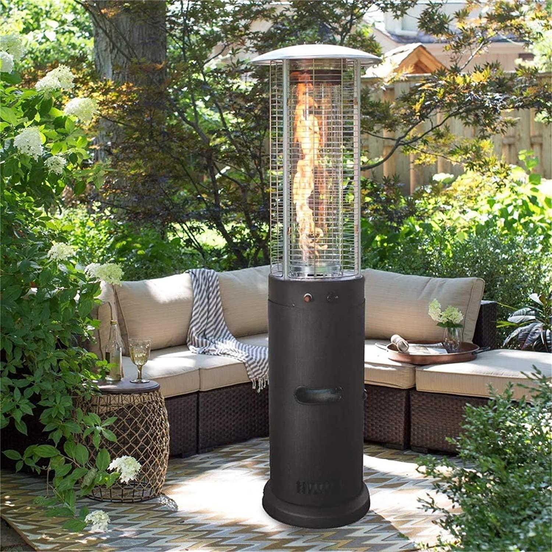 Torre calefactora de patio piramidal de propano WSN