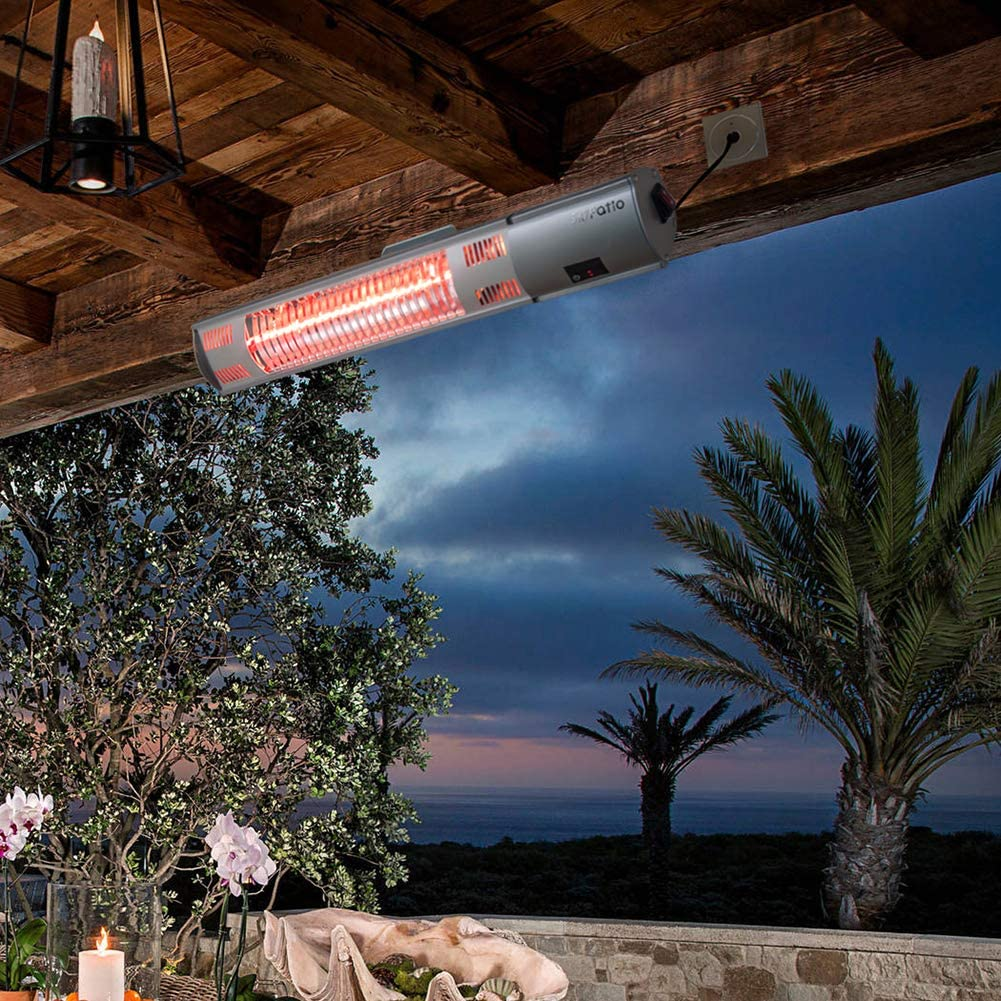 ATR ARTTOREAL Instant Warm Wall Mounted Infrared Electic Patio Heater (Waterproof)