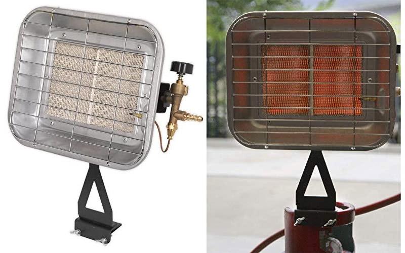 Calentador de propano para calentador de espacio para montaje en botella Sealey LP13