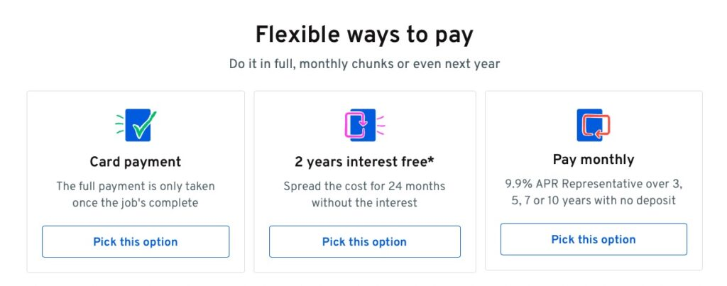 Heatable ways to pay