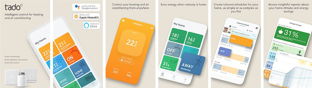 Tado Thermostat App